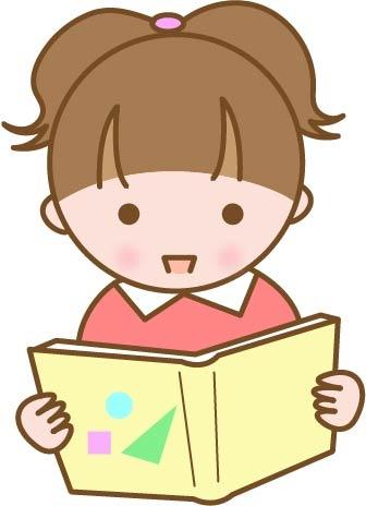 girl reading books