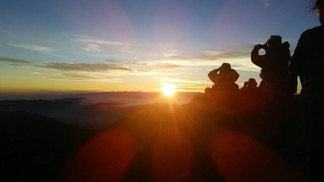 hakusan sunrise