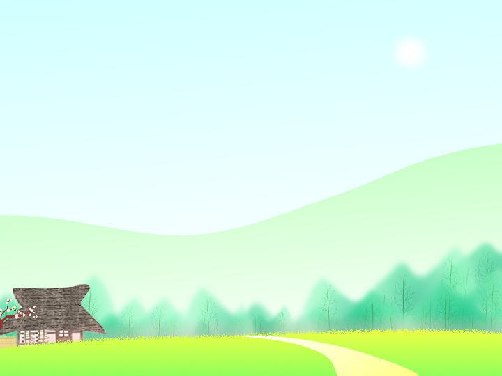 Countryside spring